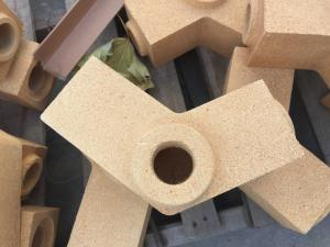 Quality National Standard Fireproof Sleeve Brick / Fire Clay Bricks Al2o3 40-80% Grade for sale