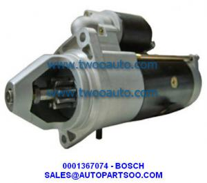 China 0001367074, 0001369014 - BOSCH Starter Motor 12V 9T 3KW on sale
