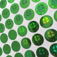 hologram label OEM printing, made to order anti fake label printing, 3D label printing service