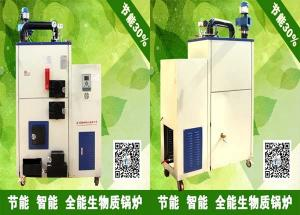 China 0.1T-0.5T full automatic biomass steam boiler / biomass steam boiler price / biomass steam boiler picture on sale
