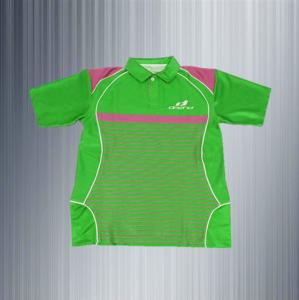 China new green design short sleeve polo t shirts promotion polo shirts china on sale