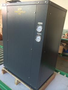 China Double Pipe Condenser Ground Heat Pump With Copeland Scroll Compressor COP 4.86 on sale