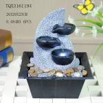 Fashionable Design Polyresin Water Fountain Handmade For Shop Decoration
