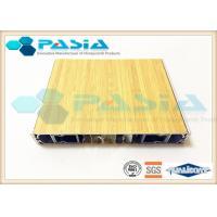 Wood Imitation Modern Honeycomb Door Panels With All Edges Sealed Waterproof