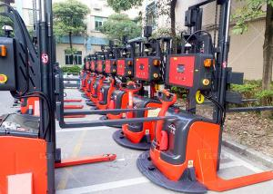 China 45m/Min Laser Guided AGV , Autonomous Material Handling Forklift With Lithium Battery on sale