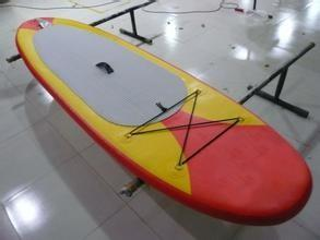 China Customized Inflatable Sup Boards , red paddle inflatable board with CE Certificate on sale