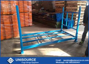 China Blue Warehouse Tire Racks Special Design With Steel Decking Or Wire Mesh Deck on sale