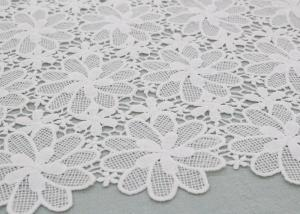 China Floral Poly Dying Lace Fabric Guipure French Venice Lace African Lace Dress Fabric on sale
