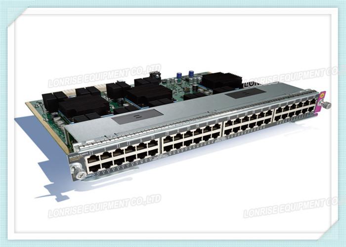 High Performance Cisco SPA Card WS-X4748-RJ45-E 4500 E
