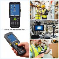 Handheld Industrial PDA Terminal Collect Data of Products in Manufacturing Lines