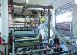 China High Efficiency Plastic Sheet Extrusion Line PE Sheet Making Machine on sale