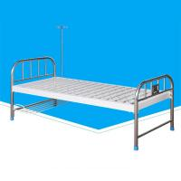 China Detachable Manual Hospital Patient Bed With Patient Name Holder Durable on sale