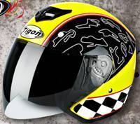 China ECE Motorcycle Open Face Helmet  Half Face Helmet on sale