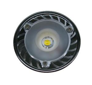 China High bright GU10 / GU5.3 4W 12VAC / DC PMMA Aluminum LED Spot Lamps For Museum on sale
