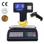 Supermarket Label Printing Scale Digital Barcode Scales Cash Register Scale 6 15 30kg