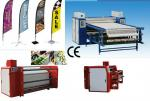Automatic Digital Textile Printing Machine 1000mm Calander Printers High Efficiency