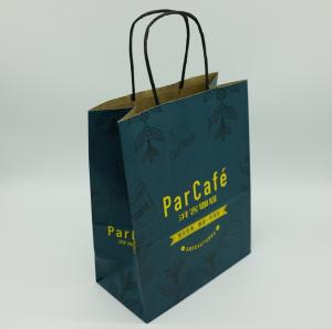 China Elegant Personalized Paper Shopping Bags Store Supermarket Fully - Customisable on sale