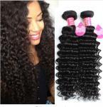Cheveux profonds brésiliens durables de vague, cheveux brésiliens de la Vierge 8A