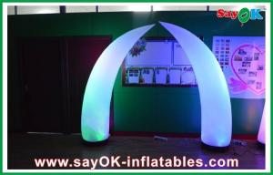 China 190T Nylon Cloth Inflatable Lighting Decoration , Custom Indoor Inflatable Ivory on sale