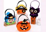 Tearproof Halloween Treat Bags , Diy Halloween Candy Bags Safe Material