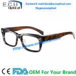 China China Mainland Acetate Eyewear Wooden Optical Glass Frame Custom made protective innovative wholesale