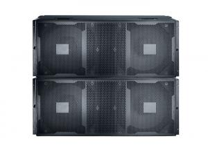 China Pro Subwoofer Speaker System for Outdoor Events , High Power Bass Speaker 1800 W on sale