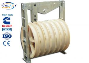 China Seven Slots Conductor Stringing Blocks For Sealed Ball Bearings Optional Model on sale