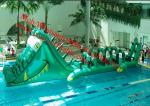 China Inflatable Park Aquatic Inflatable Aqua Park Inflatable Water Obstacle Course For Kids wholesale