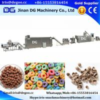 China China factory making corn flakes breakfast cereal making machinery/manufacturing equipment/process plant hot sale price on sale