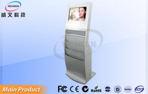 China Standing LCD Touch Screen Monitor Interactive Multi Touch Display High Definition on sale