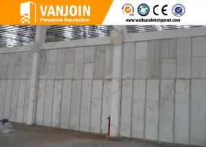 China Windproof Strong Precast Concrete Wall Panels For Steel Structure Buildings on sale