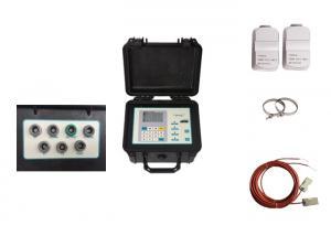 China Portable Transit Time Ultrasonic Flow Meter , Ultrasonic Liquid Flow Meter on sale