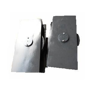 China Customized Marine Deck Equipment Double Sheave Fairlead Steel With IACS Certificate on sale