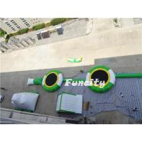 Novel Water Amusement Inflatable Water Park Durable For Kids / Adults Playing