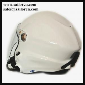 China Powered paraglider helmet PPG helmet white Paramotor helmet 820g+/-50g EN966 certificated on sale