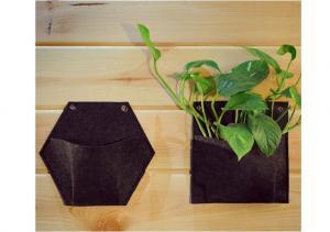 China New 2016 Super Quality 4,6, 9,12,25 Pockets Felt Planter grow Bag,Felt Grow Bags on sale