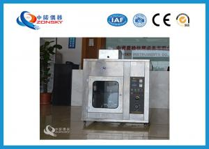 China IEC 60112 Tracking Test Apparatus Accords With GB/T 4207 Test Standard on sale