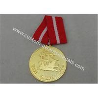 Diecasting Polygon Antique Custom Awards Medal Brass Zinc Alloy Soft Enamel