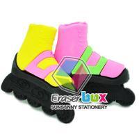 China SRS087 Roller skates shaped TPR silly eraser, cartoon eraser for kids on sale