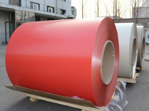 China Mill Finish PE Pvdf Coated Aluminum / O - H112 Aluminium Colour Coated Coils on sale