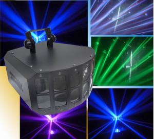 China 4in1 30W Stage LED Derby Stage Lighting / 160 degree LED disco light on sale