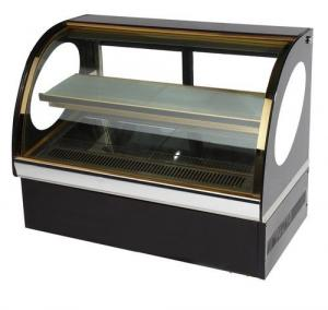 China Fan Cooling Countertop Small Cake Display Chiller on sale