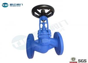 China Bellow Seal Globe Stop Valve , GGG40 DIN 3356 Industrial Globe Valve on sale