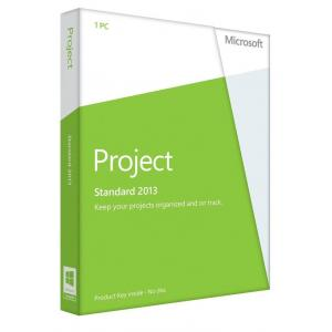 Quality Genuine Software Microsoft Office Project 2013 Standard Retail Online Key for sale