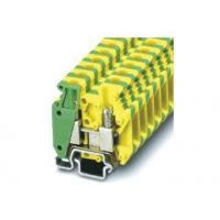 China UL-MBK3-PE 275 / 400V Din Rail Terminal Block Connectors, V0 Flame Retardant Grade on sale