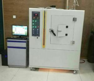 China Plastic Smoke Density Flammability Testing Equipment High Accuracy 2600W on sale
