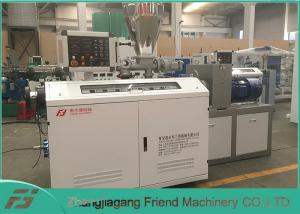 China Double Screw 22kw WPC Profile Extrusion Line Easy Assembly / Disassembly on sale