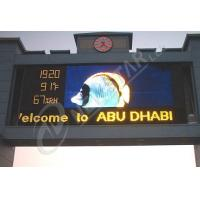 High Resolution P20 Outdoor LED Signs 2500dots/㎡ advertising LED display