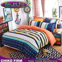 China 1 Duvet Cover 2 Pillowcases 1 Flat Sheet Leasure Theme Colors Microfiber Bedding on sale
