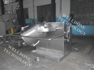 China 3D Pharmaceutical Powder Dry Blending Equipment 5 - 20 Minutes Mixing Time on sale